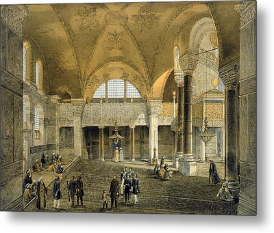 Haghia Sophia, Plate 9 The New Imperial Metal Print