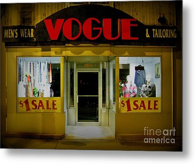 Halifax Vogue Metal Print by John Malone