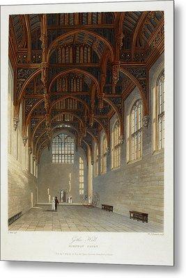 Hampton Court Metal Print by British Library