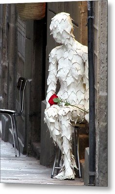 Metal Print featuring the photograph Happy Valentines Day by Jennifer Wheatley Wolf