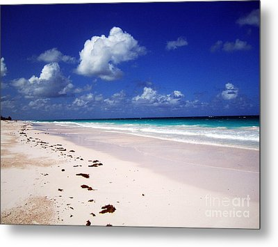 Harbour Island Metal Print by Alison Tomich