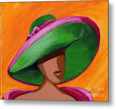 Hats For A Princess 2 Metal Print