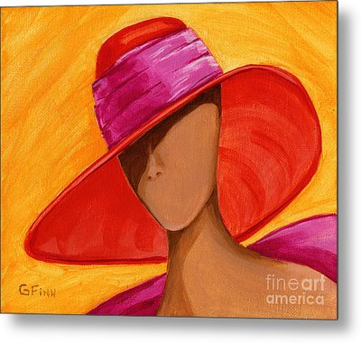 Hats For A Princess Metal Print
