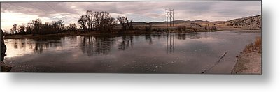 Headwaters Of The Missouri River Metal Print by David Bearden