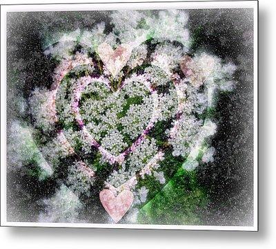 Heart Of Hearts Metal Print by Kay Novy