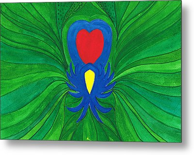 Heart Of Love.mexico Metal Print