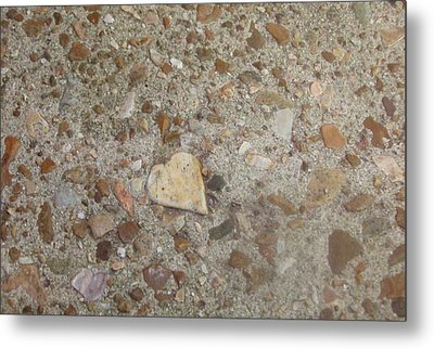 Metal Print featuring the photograph Heart Of Stone by Fortunate Findings Shirley Dickerson
