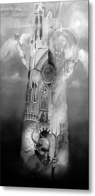 Heaven And Hell Metal Print