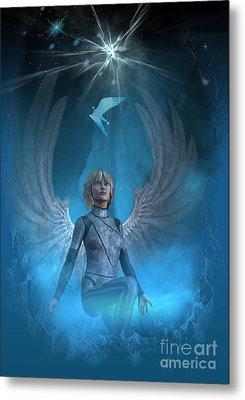 Heavenly Messenger Metal Print by Shadowlea Is