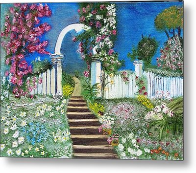 Heaven's Gate Metal Print by The GYPSY And DEBBIE