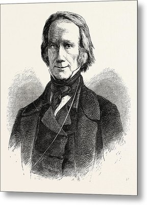Henry Clay, 1777-1852, He Was A Lawyer, Politician Metal Print by English School