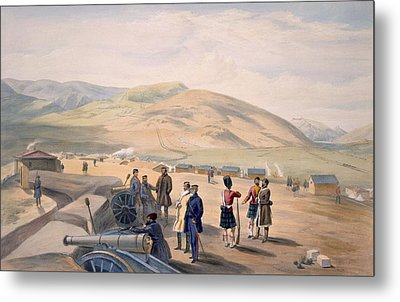 Highland Brigade Camp, Plate From The Metal Print
