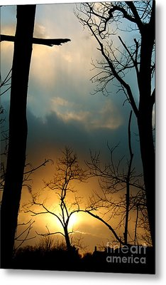 His Passion Metal Print