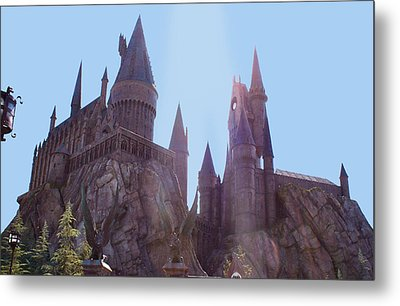 Hogwarts  Metal Print by Shelley Overton