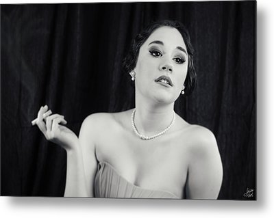 Metal Print featuring the photograph Hollywood Glamour by Lisa Knechtel