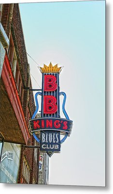 Home Of The Blues Metal Print by Suzanne Barber