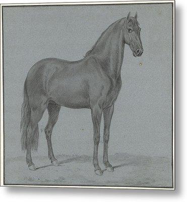 Horse Of Monsieur De Guille, Tethart Philip Christian Haag Metal Print by Quint Lox