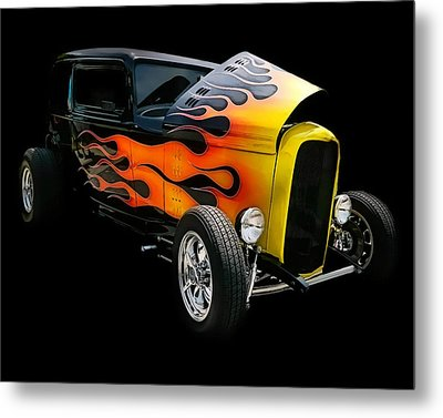 Metal Print featuring the photograph Hot Rod by Victor Montgomery