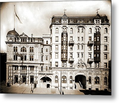 Hotel Kernan & Maryland Theatre, Baltimore Metal Print by Litz Collection