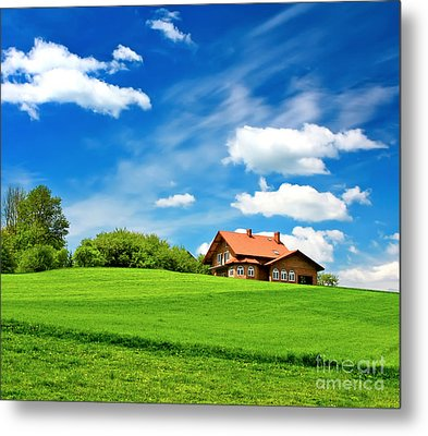 House Metal Print by Boon Mee