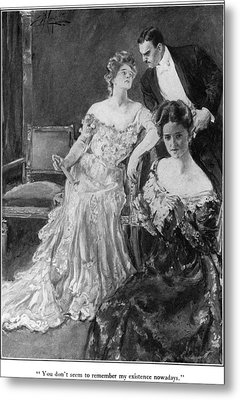 House Of Mirth, 1905 Metal Print by Granger