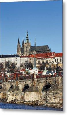 Hradcany - Prague Castle Metal Print by Michal Boubin