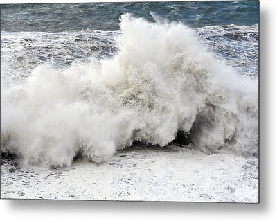 Huge Wave Metal Print by Antonio Scarpi