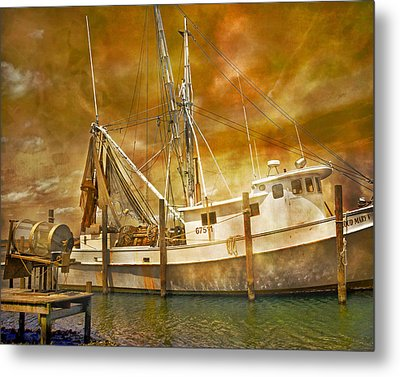 Hurricane Eve Metal Print by Betsy Knapp