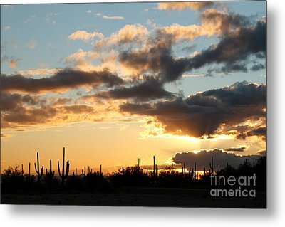 I Found The Silver Lining Metal Print by Crush Creations