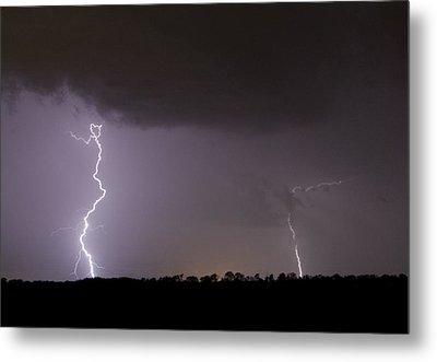 I Love Lightning Metal Print by John Crothers