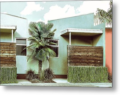 Iconic California Modern Architecture Metal Print by Dorothy Walker