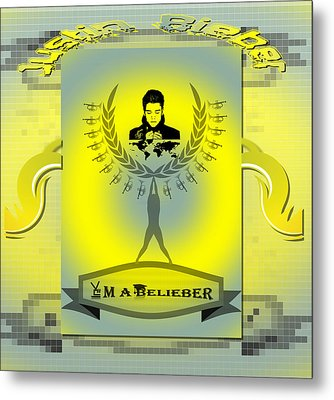 Im A Belieber Metal Print by Museum Quality Prints -  Trademark Art Designs