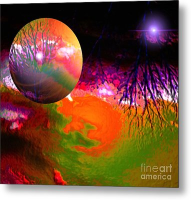 Imagination Gone Wild Metal Print by Gayle Price Thomas
