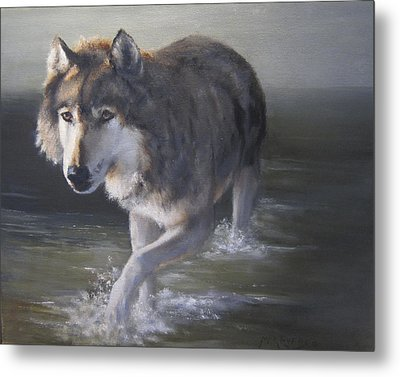 In Controversial Waters  Metal Print