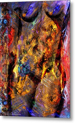 In My Mind  Metal Print by Mark Ashkenazi