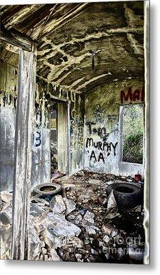 In Ruins Metal Print by Erika Weber