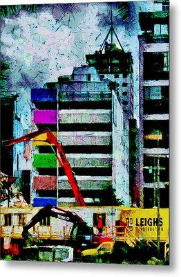In Technicolor  Metal Print by Steve Taylor