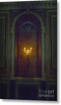 In The Great Hall Metal Print