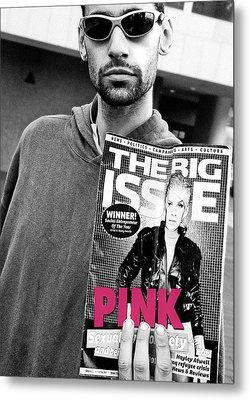 In The Pink Metal Print by Stephen Norris
