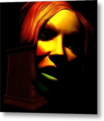 In The Shadow Of The Tomb Metal Print by Gallery Nex
