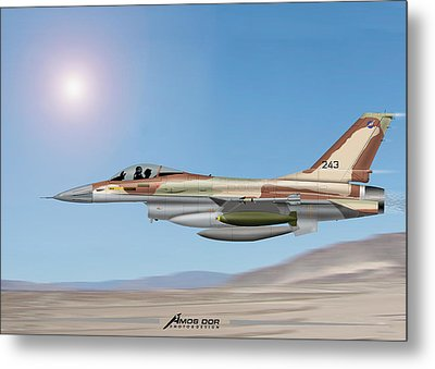 On The Way To Bagdad. Metal Print by Amos Dor
