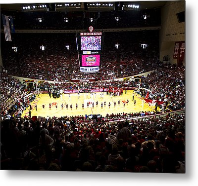 Indiana Hoosiers Assembly Hall Metal Print by Replay Photos