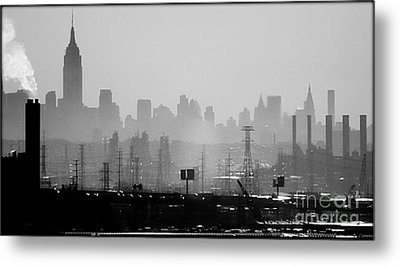 Industrial And Corporate Metal Print by James Aiken