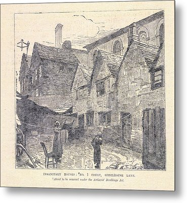 Insanitary Houses Metal Print by British Library