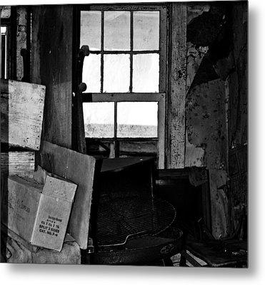 Inside Abandonment 2 Metal Print by Tara Lynn