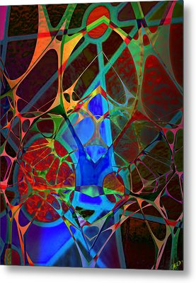 Inside Out Metal Print by Ally  White