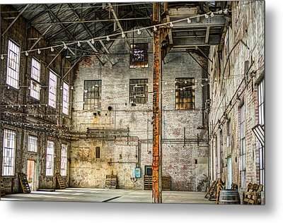 Inside The Old Sugar Mill Metal Print by Diego Re