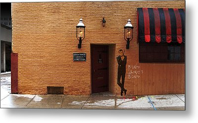 Metal Print featuring the digital art International Exports Ltd Secret Entrance To The Safe House In Milwaukee by David Blank