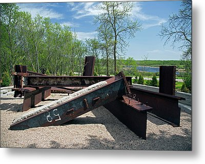 International Peace Garden Metal Print by Jim West