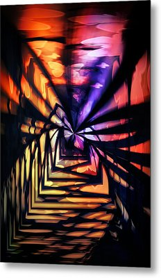 Into The Light Metal Print by Marianna Mills